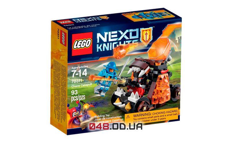 LEGO NEXO KNIGHTS Безумная катапульта (70311)