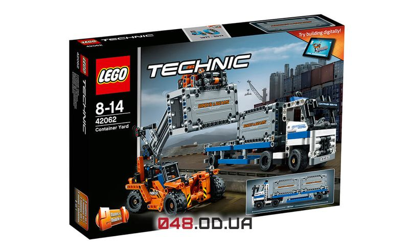 LEGO Technic Контейнерный терминал (42062)