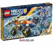 LEGO NEXO KNIGHTS Вездеход Аарона 4x4 (70355)