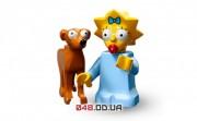 LEGO Minifigures Мегги и Маленький помощник Санты (71009-4)