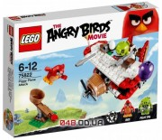 LEGO Angry Birds Самолетная атака свинок (75822)