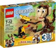 LEGO Creator Забавные лесные животные (31019)