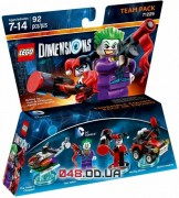 LEGO Dimensions Тим-пак: Джокер и Харли Квинн (71229)
