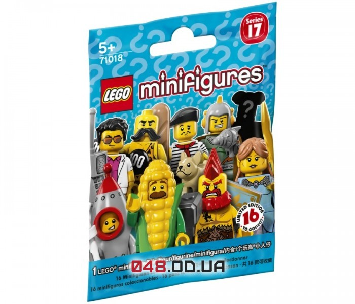LEGO Minifigures Запакованный пакетик 17 серия (71018-17)