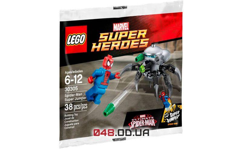 LEGO Super Heroes Человек-Паук и Супер-джампер (30305)