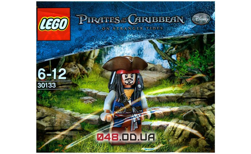 LEGO Pirates of the Carribean Джек Воробей (30133)