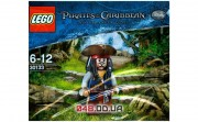 LEGO Pirates of the Carribean Джек Воробей (30133)