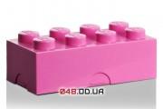 LEGO ланч-бокс розовый