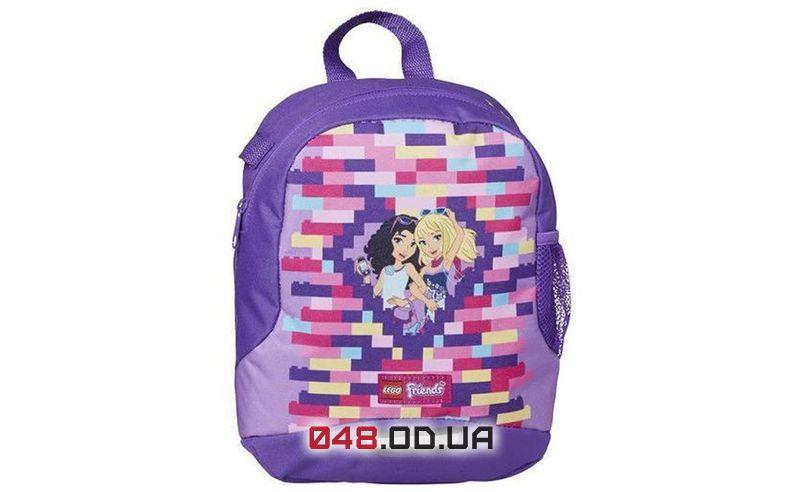 Школьный рюкзак LEGO Friends фиолетовый