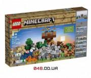 LEGO Minecraft Верстак 2.0 717 деталей 5 минифигурок (21135)
