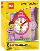 набор часов LEGO наручные и настольные для девочки (9005039)