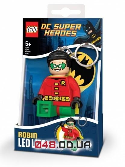 LEGO Брелок-фонарик DC Super Heroes Робин 7,5 см