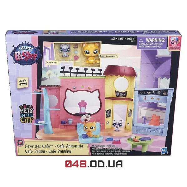 Игровой набор littlest pet shop Кафе,  B5479