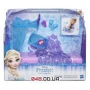 Игровой набор Hasbro ледяная кровать-спальня Эльзы (Frozen Icicle Canopy Bed Set)