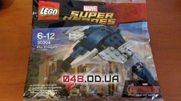 Полибег LEGO  Super Heroes The Avengers Боевой транспорт мстителей 56 дет. (30304)