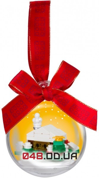LEGO Seasonal Шар на елку «Снежный домик» (850949)