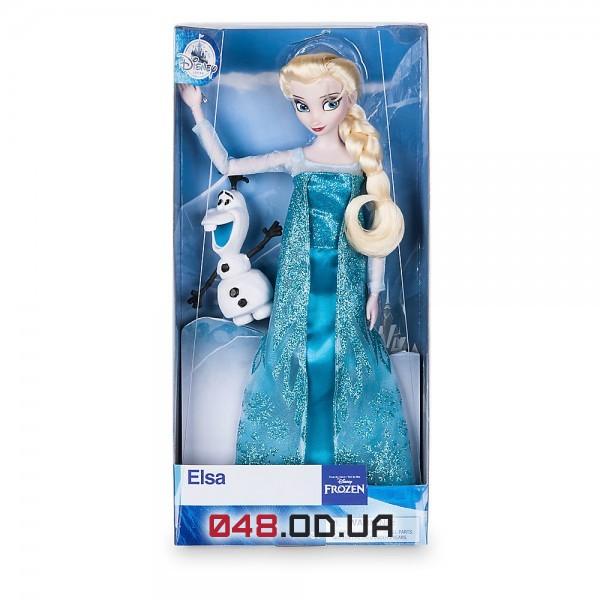 Кукла Дисней Эльза с олафом классическая (коллекция 2017 года)