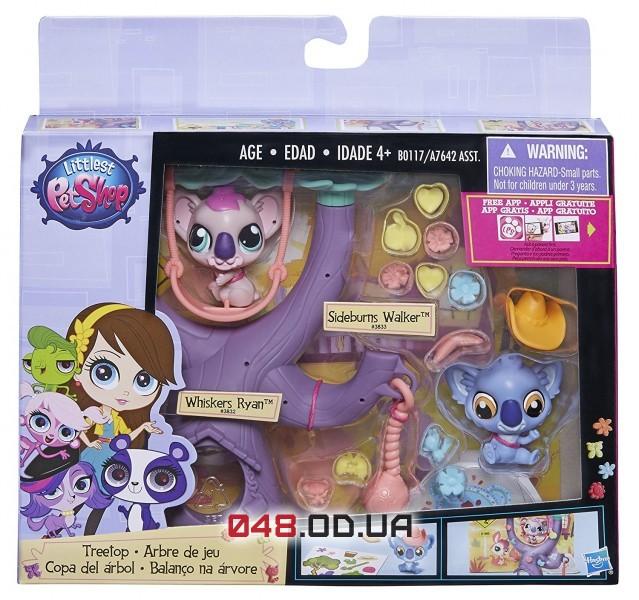 Игровой набор Littlest Pet Shop коалы, B0117