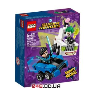 LEGO Super Heroes Mighty Micros: Найтвінг проти Джокера (76093)