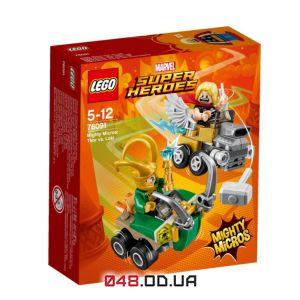 LEGO Super Heroes Тор против Локи (76091)