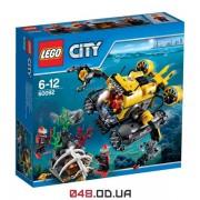 LEGO City Глубоководная подводная лодка (60092)