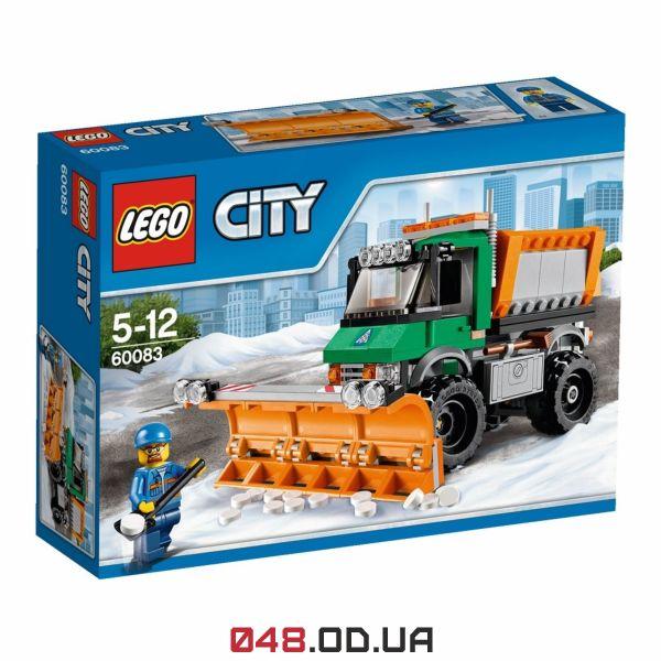 LEGO City Снегоуборочный грузовик (60083)