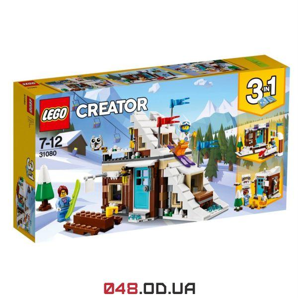 LEGO Creator Модульний набір «Зимові канікули» (31080)