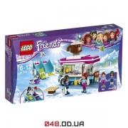 LEGO Friends Горнолыжный курорт: фургончик по продаже горячего шоколада (41319)