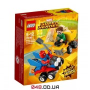 LEGO Super Heroes Mighty Micros: Пурпуровий Павук проти Піщаної людини (76089)
