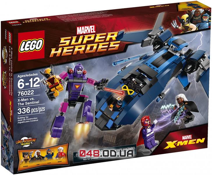 LEGO Super Heroes Люди Икс против Стражей (76022)