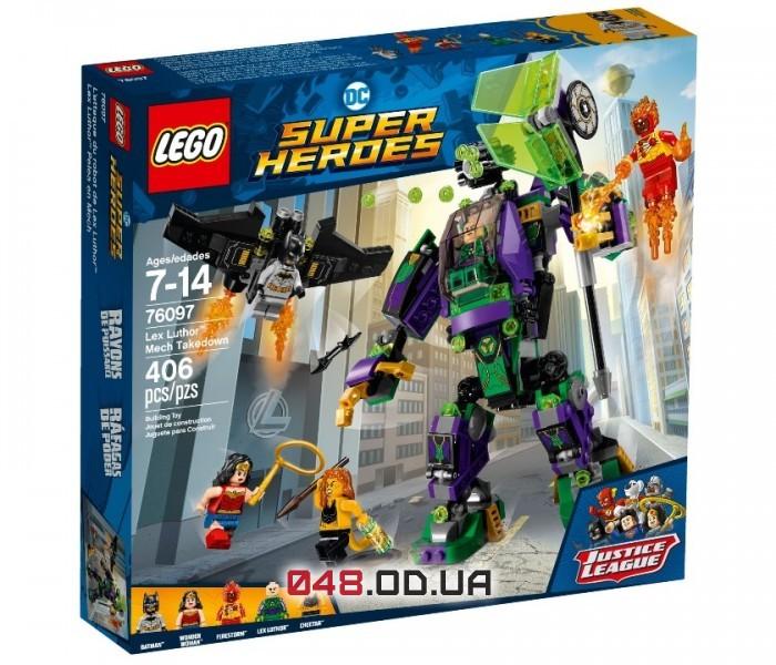 LEGO Super Heroes  Сражение с роботом Лекса Лютора  (76097)
