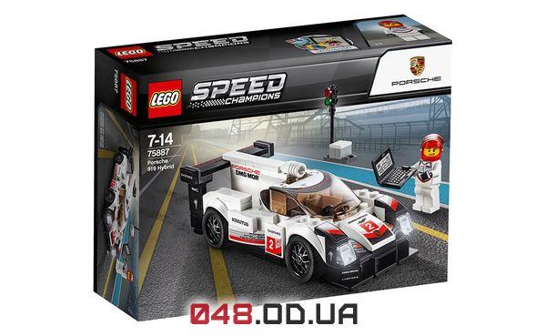 LEGO Speed Champions Porsche 919 Hybrid (75887)