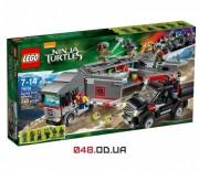 LEGO Ninja Turtles Большая снежная погоня (79116)