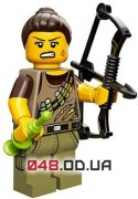 LEGO Minifigures Охотница за динозаврами (71007-10)