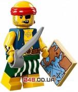 LEGO Minifigures Пират-прохвост (71013-9)