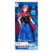 Кукла классическая Дисней принцесса Анна с кольцом для девочки, 30 см