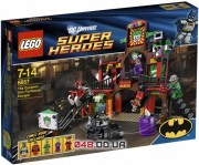 Lego Super Heroes Двойной побег из комнаты страха (6857)