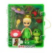 Игровой набор Дисней кукла мини аниматор фея Динь-Динь с аксессуарами в чемоданчике
