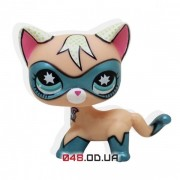 Фигурка Littlest pet shop кошка-стоячка в маске