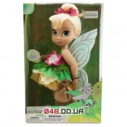 Коллекционная кукла-аниматор Дисней фея Динь-Динь, светятся крылья 40 см