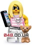 LEGO Minifigures Законодательница моды (71001_14)