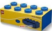 LEGO Органайзер на стол с выдвижным ящиком на 8 точек (синий)
