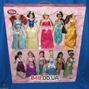 Эксклюзив! Коллекционный набор из 11 кукол принцесс Диснея (выпуск 2014 г.)