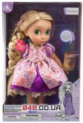Лимитированный выпуск! Кукла аниматор Дисней Рапунцель в детстве, светятся волосы 40 см