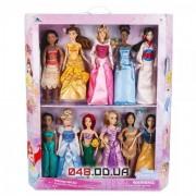 Эксклюзив! Коллекционный набор из 11 кукол принцесс Диснея (выпуск 2019 г.)