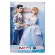 Игровой набор кукол Дисней Золушка и прекрасный принц в свадебных нарядах (выпуск 2019 г.)