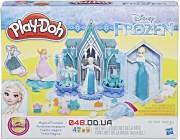 Набор для лепки Play-Doh Ледяной замок и магический фонтан Эльзы