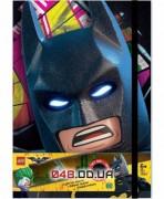 Книга для записей с резинкой Batman Movie «Бэтмен» с подсветкой, 80 листов в линейку