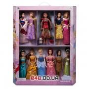Эксклюзив! Коллекционный набор из 11 кукол принцесс Диснея (выпуск 2016 г.)
