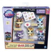 Игровой набор Littlest Pet Shop Обед в Даунтауне (Pets in the City)  B0282/B5005